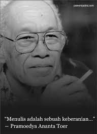 quotes from pramoedya ananta toer buletin sastra pawon