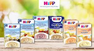 Mới nhất) Giá các loại bột ăn dặm Hipp cho trẻ 6 tháng tuổi