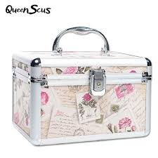 case portable travel jewelry cosmetic