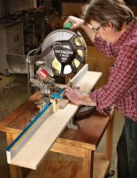 1051 Miter Saw Fence Plans Miter Saw Tips Jigs And Fixtures Used Woodworking Tools Miter Saw Fence Planning