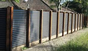 Decorative Fencing Corrugated Metal Fence Backyard Fences Building A Fence