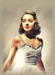 Wanda McKay, Vintage Actress Painting by John Springfield