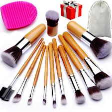 highly rated 12 piece makeup brush set