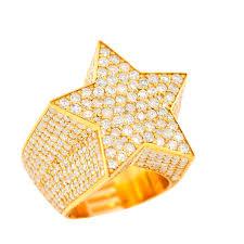 custom diamond star ring johnny dang
