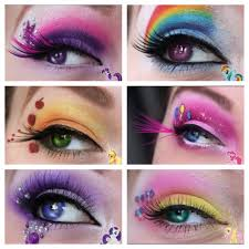 my little pony makeup would be great