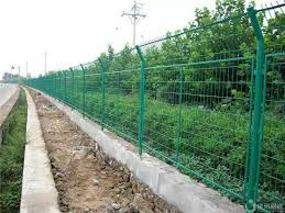 Pvc Coated Wire Mesh Fencing Welded Wire Mesh Panels For Road River Side