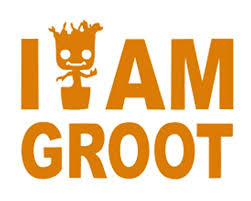 Signage Cafe I Am Groot Vinyl Decal For Windows Cars Trucks Tool Boxes Lunch Boxes Laptops And Tablets Orange 6 Wantitall