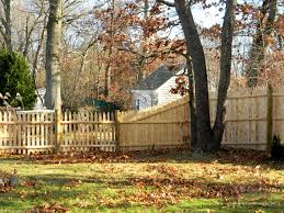Wood Fence Open Spaced Picket