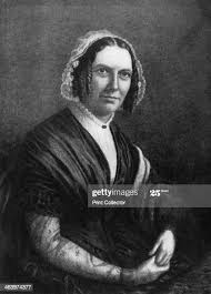 Abigail Powers Fillmore, wife of American president Millard Fillmore,...  News Photo - Getty Images