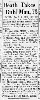 Obituary of Cleo Swede Hawkins, Twin Falls, Idaho. - Newspapers.com