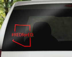 Redfored Decal Any State Red For Ed Decal Arizona Red For Ed Etsy