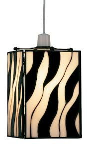oaks zebra tiffany lamp shade ot 25
