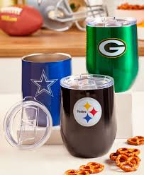 Nfl Stainless Steel Ultra Wine Tumblers The Lakeside Collection