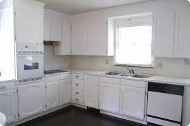 painting oak cabinets white an amazing