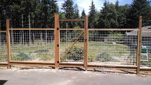 6 Ft Welded Wire Fence With Walk Gate Under Construction Welded Wire Fence Fence Design Wire Fence