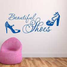 Beautiful Shoes Wall Decal Style And Apply