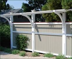Board Fence With Trellis Topper Wood Fences Vinyl Fences From Walpole Outdoors Privacy Landscaping Backyard Privacy Fence Designs Backyard Privacy