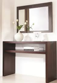 jenny console and mirror set modern