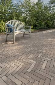 unilock for traditional brick patios