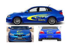 Product Subaru Impreza Wrx World Rally Team Kit Vinyl Graphics Logo Decals
