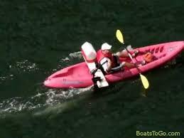easy diy kayak motor mount with 55 lbs