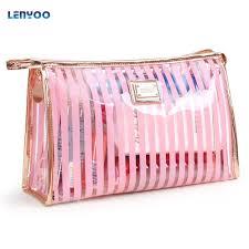 makeup bag las transpa wash bag