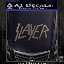 Slayer Decal Sticker A1 Decals