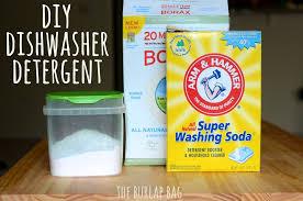 diy dishwasher detergent the burlap bag