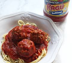 homemade spaghetti and meat with