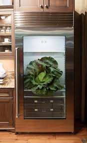 sub zero glass door refrigerator