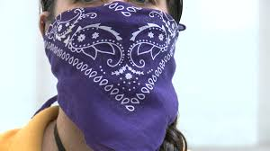 staff wear bandanas ...