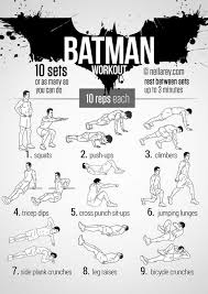 batman s fitness your