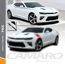 Camaro Decals Stickers Pike Side Decals Fender Stripe Graphics 2016 2018 Premium And Supreme Install Speedycardecals Fast Car Decals Auto Decals Auto Stripes Vehicle Specific Graphics