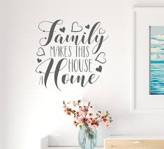 Vinyl Wall Decal Quote Lettering Family Welcome Home House Stickers Mu Wallstickers4you