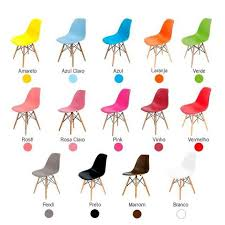 Cadeira Charles Eames Wood Eiffel -frete Grátis para Todo Brasil ...