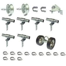 Rolling Gate Hardware Kit 1 With Chain Link Parts Aleko