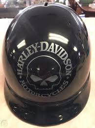 Rare Harley Davidson Willie G Skull Head Logo Ceramic Helmet Bank Boston Ma 1859411708