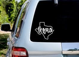 Dozili Texas Decal Texas Sticker Texas Car Decal Texas Car Sticker Texas State Decal Texas State Sticker Texas Tumbler Decal State Decal 7 Amazon Co Uk Kitchen Home