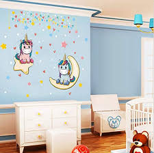 Kids Room Decor Arttop Forest Trees Wall Decal Colorful Woodland Trees Wall Sticker For Window Cling Decor And Nursery Decoration 57pcs Multicolor Decals Wall Decor Home Decor