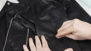 how to care for a leather jacket with