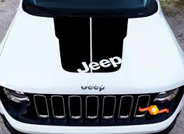 Product 2018 Jeep Cherokee Trailhawk Vinyl Hood Decal Sticker Graphic