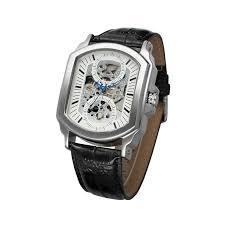 winner brand automatic skeleton watch