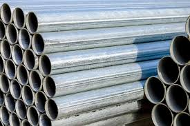 Supply Of Shiny New Steel Chainlink Fence Posts Stock Image Image Of Fence Posts 45132951