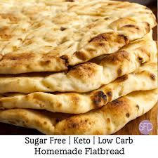 keto low carb flatbread the sugar