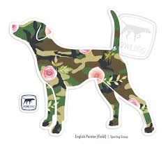 Pointer Field Decal Fowl Dog