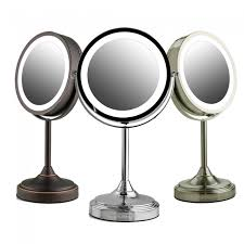ovente tabletop vanity mirror with