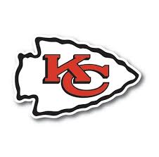 Kansas City Chiefs Vinyl Die Cut Decal Sticker 4 Sizes