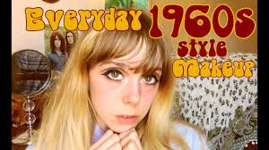 my everyday 1960s style makeup you
