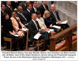 """Rev. Adam Hamilton Challenges President Obama to """"Knock Holes in the  Darkness"""" during the 2013 Inaugral Prayer Service"""