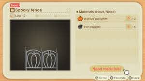 All Halloween Diy Recipes And Spooky Items Animal Crossing New Horizons Wiki Guide Ign